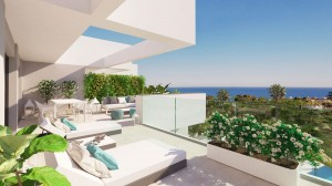 CONTEMPORARY PENTHOUSE WITH SEA VIEWS MANILVA 351 300 €