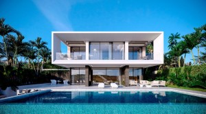 8 MODERN SEA VIEW VILLAS ESTEPONA FROM 495 000 €